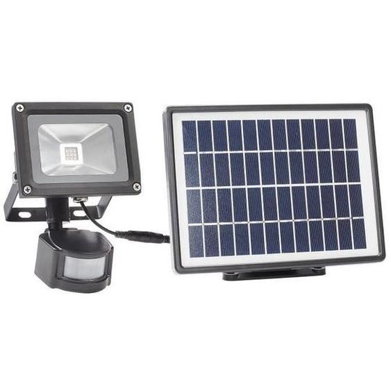 SMARTWARES Luminaire extérieure solaire avec panneau solaire séparé et capteur de mouvement SFL-180-MS