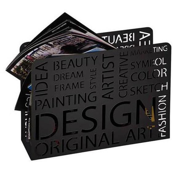 SO INSIDE Porte revue Design noir