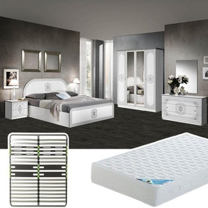 Solaya - Chambre Complète 160x200cm + Sommier AltoZone + Matelas Maldives