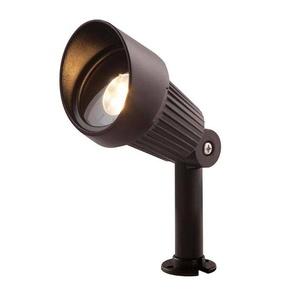 Spot projecteur à piquer ou visser FOCUS 3W GU5.3 MR16 IP44 Blanc Chaud Orientable éxterieur Garden lights ampoule fournie