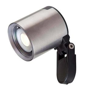 Spot projecteur à piquer ou visser GALILEO 2W GU5.3 MR11 IP44 Blanc Chaud Orientable éxterieur Garden lights ampoule fourni