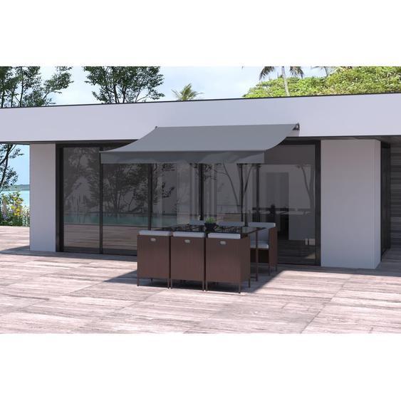 Store banne gris 2820 x 2480 mm - CONCEPT-USINE