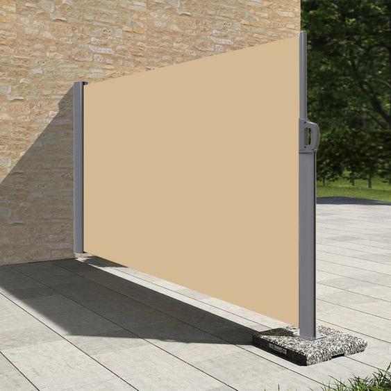 Stores latéral paravent extérieur brise vue pour terrasse - 1.6x3.5m - Dune - Dune - SUNNY INCH ®