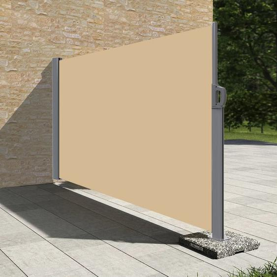 Stores latéral paravent extérieur brise vue pour terrasse - 1.8x3.5m - Dune - Dune - SUNNY INCH ®