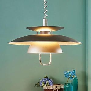 Suspension LED pour table à manger Nadija, grise