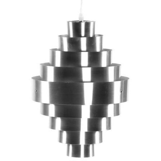 Suspension originale en aluminium brossé - Maïa