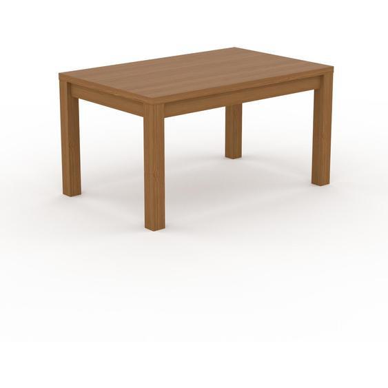 Table à manger - Chêne, avec cadre Chêne - 140 x 76 x 90 cm, personnalisable