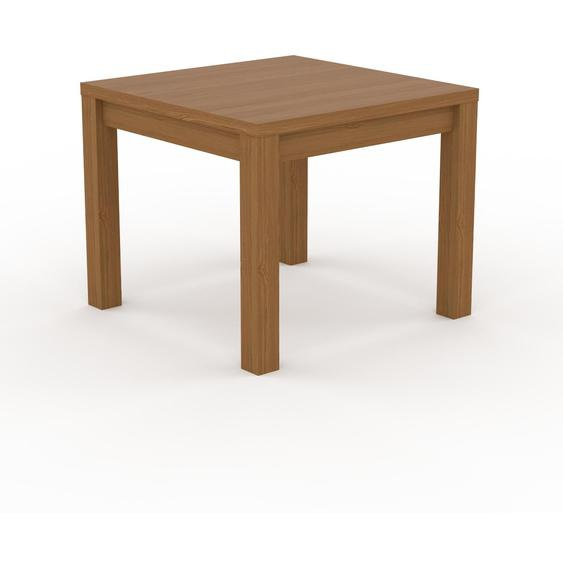 Table à manger - Chêne, avec cadre Chêne - 90 x 76 x 90 cm, personnalisable