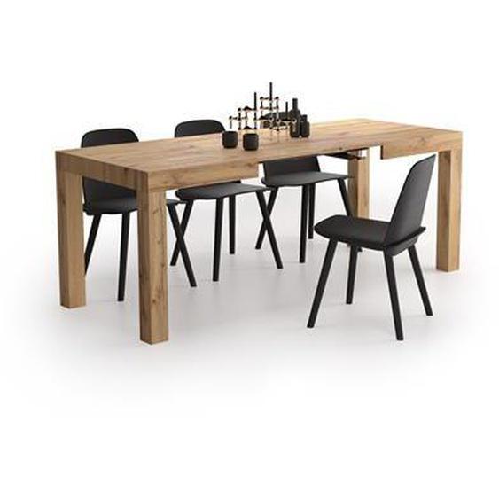 Table à manger extensible, First, Bois Rustique