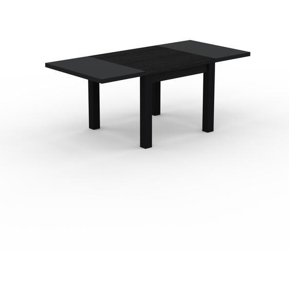 Table à manger extensible - Wengé, moderne, pour salle à manger ou cuisine, avec deux rallonges - 190 x 76 x 90 cm, personnalisable