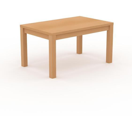 Table à manger - Hêtre, avec cadre Hêtre - 140 x 76 x 90 cm, personnalisable