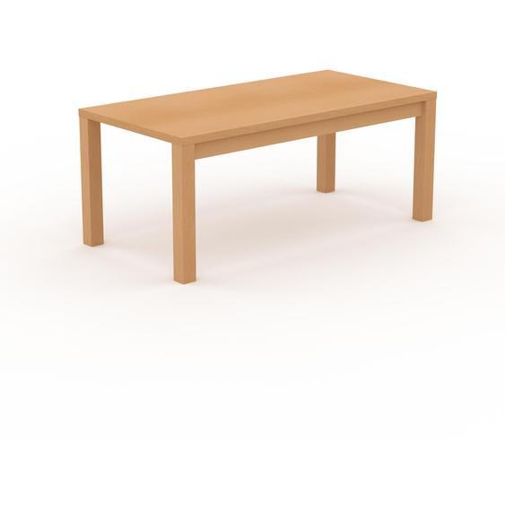 Table à manger - Hêtre, avec cadre Hêtre - 180 x 76 x 90 cm, personnalisable