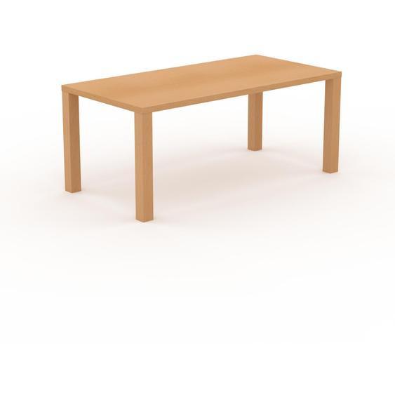 Table à manger - Hêtre, design, pour salle à manger ou cuisine plateau de qualité - 180 x 76 x 90 cm, personnalisable