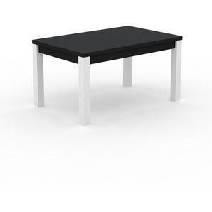 Table à manger - Noir, avec cadre Noir - 140 x 76 x 90 cm, personnalisable