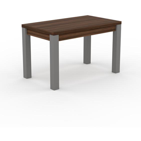 Table à manger - Noyer, avec cadre Noyer - 120 x 76 x 70 cm, personnalisable