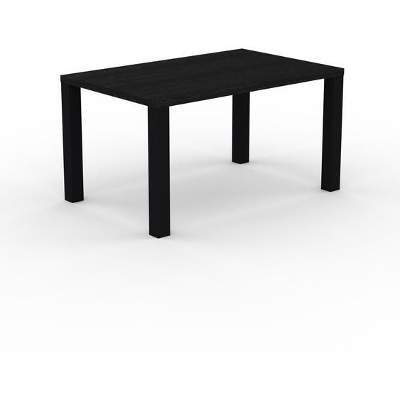 Table à manger - Wengé, design, pour salle à manger ou cuisine plateau de qualité - 140 x 76 x 90 cm, personnalisable