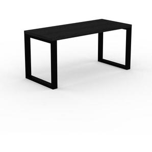 Table à manger - Wengé, design, pour salle à manger ou cuisine plateau de qualité - 160 x 75 x 70 cm, personnalisable