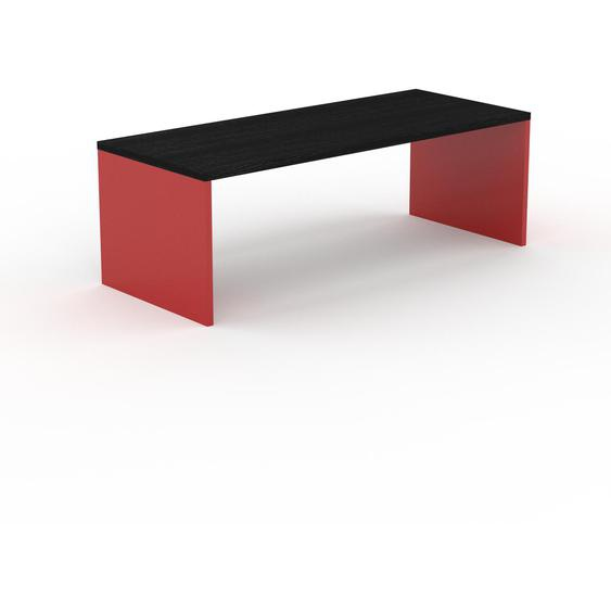 Table à manger - Wengé, design, pour salle à manger ou cuisine plateau de qualité - 220 x 75 x 90 cm, personnalisable