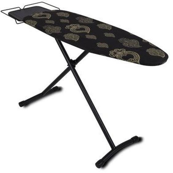 Table à repasser design UTAH noir acier