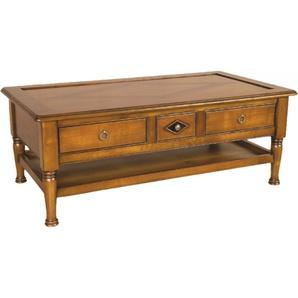 Table Basse 3 tiroirs double plateau