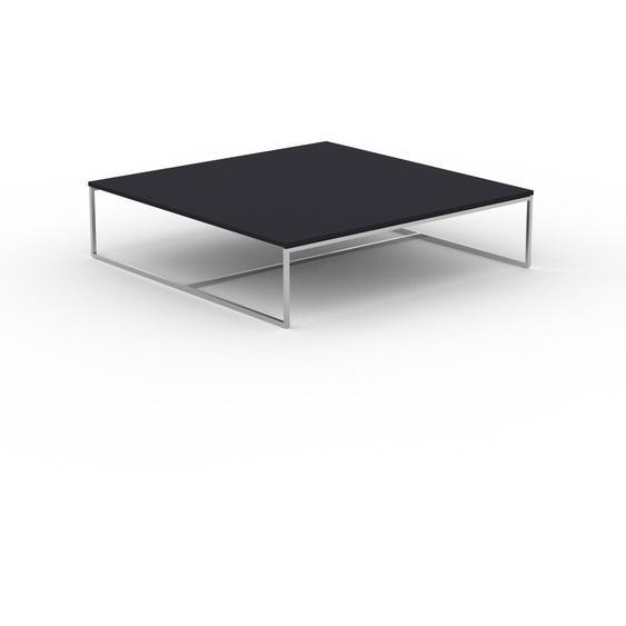 Table basse - Anthracite, design, bout de canapé sophistiqué - 121 x 31 x 121 cm, personnalisable