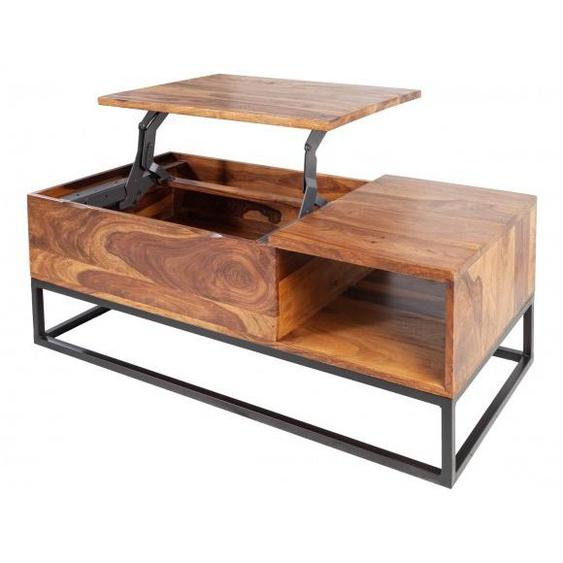 Table basse bois plateau relevable - Boris