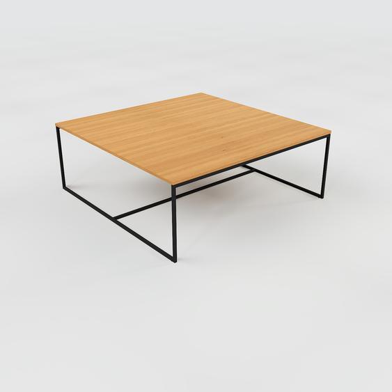 Table basse - Chêne, design, bout de canapé sophistiqué - 121 x 46 x 121 cm, personnalisable