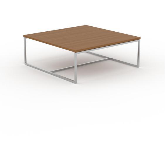 Table basse - Chêne, design, bout de canapé sophistiqué - 81 x 31 x 81 cm, personnalisable