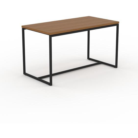 Table basse - Chêne, design, bout de canapé sophistiqué - 81 x 46 x 42 cm, personnalisable