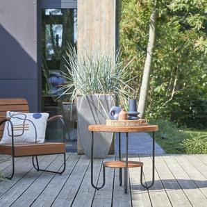 Table basse de jardin en teck Key Wood