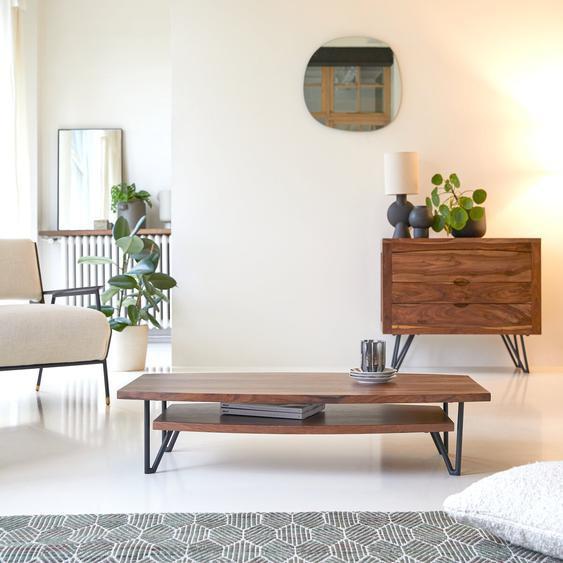 Table basse en bois de palissandre 110x60 Bonnie