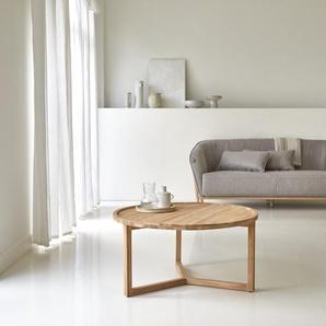 Table basse en bois de teck 90 Ana