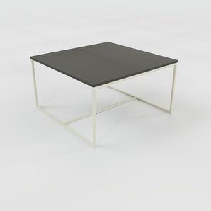 Table basse - anthracite, design, bout de canapé sophistiqué - 81 x 46 x 81 cm, personnalisable