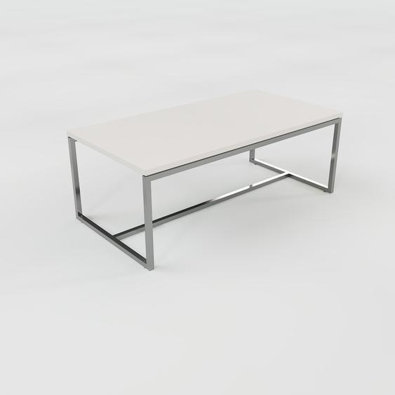 Table basse - Gris clair, design, bout de canapé sophistiqué - 81 x 31 x 42 cm, personnalisable