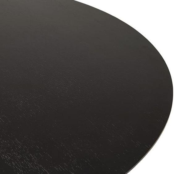 Table basse lounge AGUA noire - Ø 90 cm