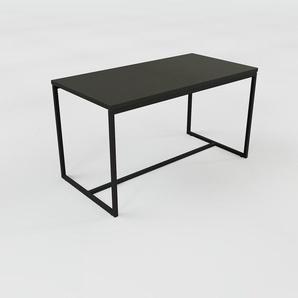Table basse - noir, design, bout de canapé sophistiqué - 81 x 46 x 42 cm, personnalisable