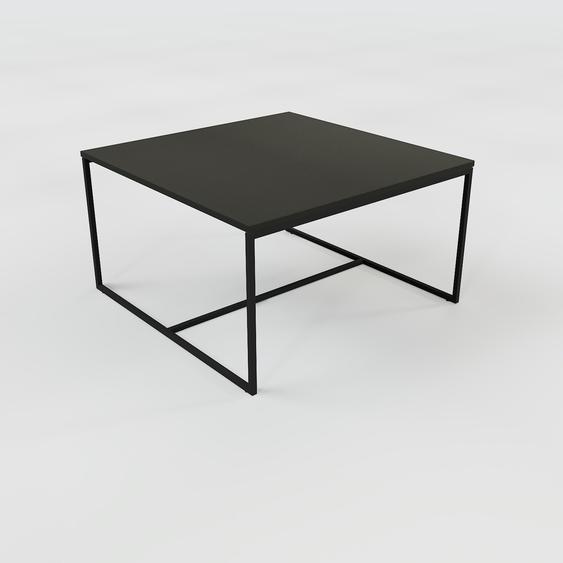 Table basse - Noir, design, bout de canapé sophistiqué - 81 x 46 x 81 cm, personnalisable