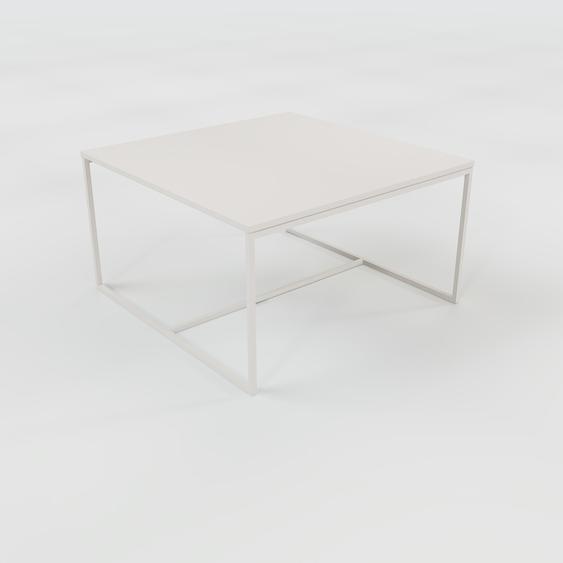 Table basse - NULL, 81, design scandinave, petite table pour salon élégante - 81 x 46 x 81 cm, personnalisable