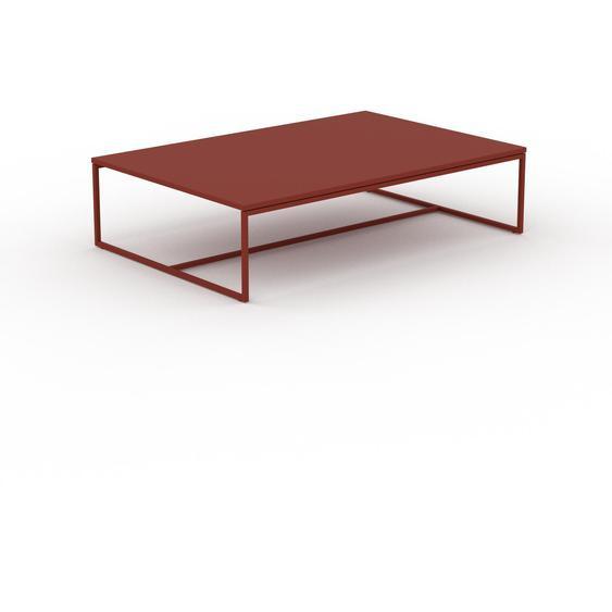 Table basse - Rouge bordeaux, design, bout de canapé sophistiqué - 121 x 31 x 81 cm, personnalisable
