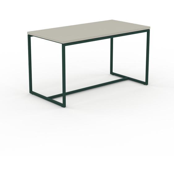 Table basse - Vert de gris, design, bout de canapé sophistiqué - 81 x 46 x 42 cm, personnalisable
