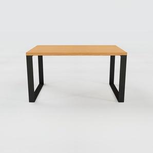 Table - Chêne, design, plateau de table raffiné - 140 x 75 x 90 cm, personnalisable