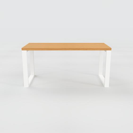 Table - Chêne, design, plateau de table raffiné - 160 x 75 x 70 cm, personnalisable