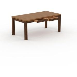 Table en chêne, bois massif, design contemporain, table en bois élégante - 180 x 76 x 90 cm, personnalisable