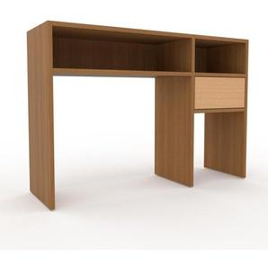 Table console - Chêne, moderne, raffinée, avec tiroir Hêtre - 116 x 80 x 35 cm, personnalisable