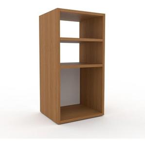 Table de chevet - Chêne, design minimaliste, table de nuit élégante - 41 x 80 x 35 cm, personnalisable