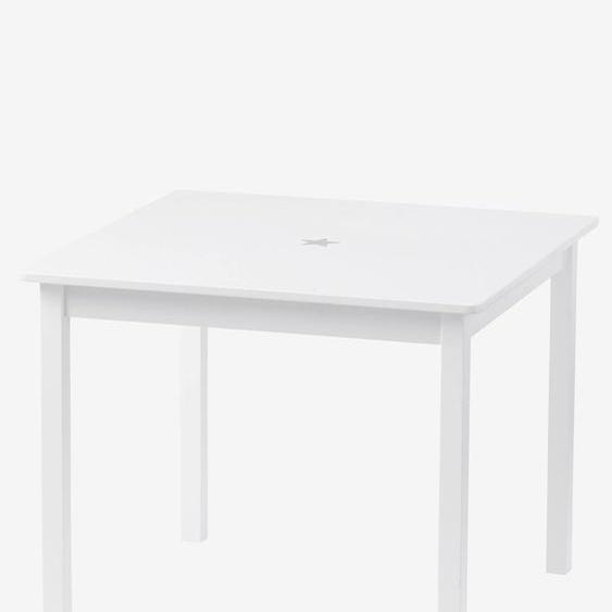 Table de jeu enfant LIGNE SIRIUS blanc