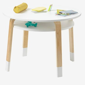 Table de jeu Play blanc/bois