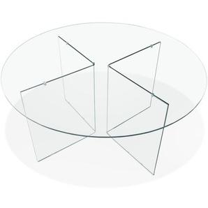 Table de salle à manger ronde en verre BOBBY TABLE ROUND design - Ø 120 cm