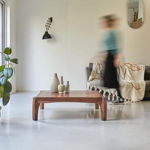 Table de salon 95x95 en bois de palissandre Luna