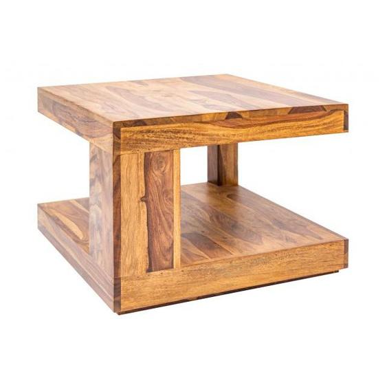Table de salon carrée bois de palissandre - Noa - 60 x 60 cm